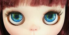 Blythe Doll Realistic Soft Eye Chips - Blue #2 EyeChips US SELLER