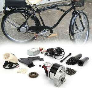 Kit di Conversione Bicicletta Elettrica 24V 250W Kit Bici Fai da te 22''-28''
