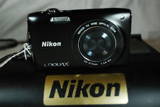 Excellent Nikon COOLPIX S3200 16MP Compact Digital Camera - Choice of Colours