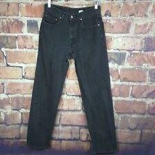 Levi's 550 Relaxed Fit Mens Jeans Size 33X34 Black Actual 32X31