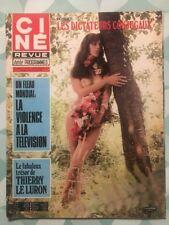 Ciné Revue n 47 1976 Tina AUMONT Thierry LE LURON Jean SERVAIS Isabelle HUPPERT