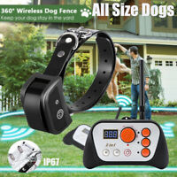 IP67 PetSafe Wireless Electric Dog Fence System with Remote Dog Training Collar