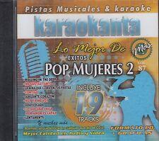 Adele Paulina Rubio Oreja De Van Gogh Pop Mujeres 2 Karaoke New Nuevo sealed
