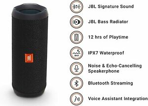 JBL Flip 4 wireless portable Speaker Black