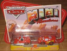 Disney Pixar Cars Mini Adventures Lightning McQueens Team Fabulous Hudson Hornet