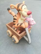 Disney Pooh & Friends - Tigger & Piglet in cart Fun and Funner times retired