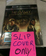 The Mummy Tomb of the Dragon Emperor 4k OUTER slip cover - NO MOVIE -
