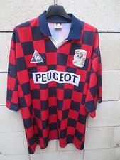 VINTAGE Maillot COVENTRY 1997 LE COQ SPORTIF damier shirt jersey away 50/52 XXL