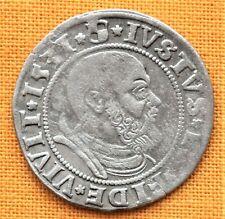 Medieval Polish Coin - Albert Silver Grosso, 1531.