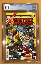 GIANT-SIZE DEFENDERS # 3 CGC 9.8. FACSIMILE EDITION. (2/20). FIRST KORVAC!