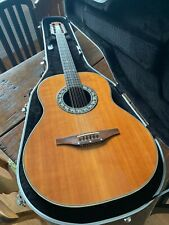 1975 Ovation 12 string Pacemaker Guitar, Hardshell Case, Amazing Action!