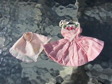 Vintage Barbie Doll Clothes Skipper Me 'N My Doll #1913 VHTF 1965 Dress Slip
