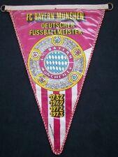 Orig.Wimpel   FC BAYERN MÜNCHEN  -  Deutscher Meister 1973  !!  SEHR SELTEN