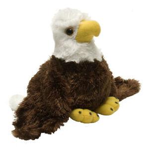 """WILD REPUBLIC HUG'EMS BALD EAGLE CUTE SOFT ANIMAL PLUSH TOY 7"""" / 18cm **NEW**"""