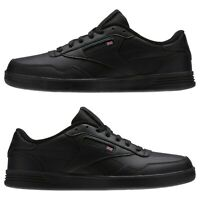 Reebok Men's Club MEMT Classic Sneaker Shoes Black X-Wide 4E Memory Tech NWB