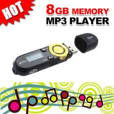 Portable USB Digital MP3 Music Player Support 8GB TF Card & FM Radio LCD Screen