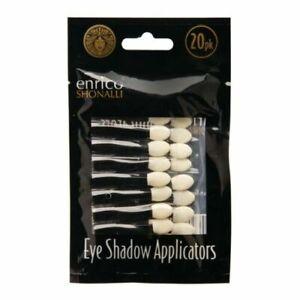 20Pc Single Ended Disposable Eye Shadow Applicators Sponge Make Up Brush Tools