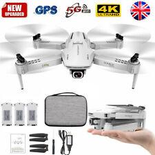 S162 RC Drone 4K HD Camera GPS 5G WIFI FPV Foldable Quadcopter 3 Batteries E2X0
