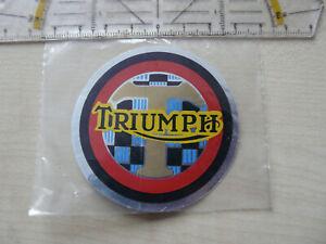 Triumph Tankaufkleber Aufkleber Historisc Neu Original aus den 70 / 80 er Jahren