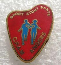 Pin's Sport Atout Santé CPAM Ville ANGERS #141