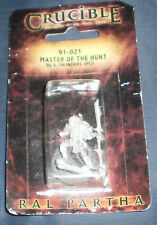 Ral Partha 91-021 Crucible MASTER OF THE HUNT Miniatures Warriors FASA NOS