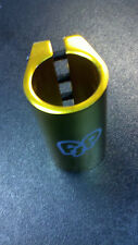 FSP Scooter Quad Clamp Gold Fits Phoenix MGP Grit Tilt Razor Standard Size Bars