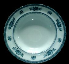 Losol Ware KEELING & CO LTD SHREWSBURY Blue/White 9 1/2 inch Rim Bowl x1 (2 avai