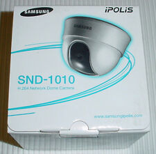 Samsung iPolis SND-1010 POE H.264 Surveillance Security Dome Camera, New-in-Box