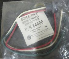 TPC Super-Trex Quick-Connect Male Receptacle 84400