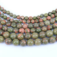 """15"""" Natural Colorful Stone Agate Gemstone Quartz Round Loose Spacer Beads 4-10mm"""