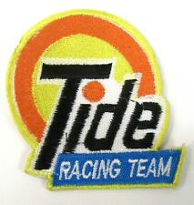 TIDE RACING TEAM Figural hydroplane boat shirt jacket patch tr1