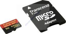 TRANSCEND 8GB 8G 8 G GB MICRO SDHC ULTIMATE CLASS 10 UHS-I U1 90MB 600X MICRO SD