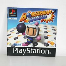 INSTRUCTION MANUAL FOR PS1 PSONE BOMBERMAN WORLD PLAYSTATION GAME