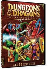 Dungeons & Dragons Animated Series (1984/1986) DVD, All 27 Episodes (New Sealed)