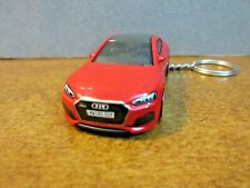 RARE DIE CAST RED AUDI RS 5 COUPE  KEY CHAIN 1/64 SCALE