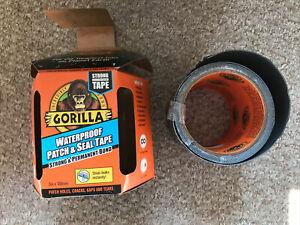 Super Strong Waterproof Gorilla Tape - Half  Used Roll 1.5m Left