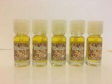 VANILLA BEAN NOEL - Bath Body Works HOME Fragrance OIL lot 5 bottles -new
