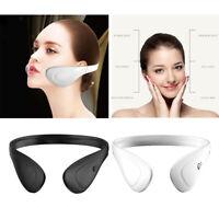 Appareil de massage du visage électrique EMS V Lifting musculaire du visage