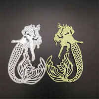 mermaid cutting dies stencil scrapbook album paper embossing craft DIY Pip LR