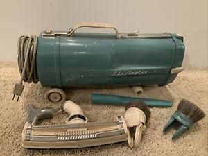 VINTAGE  TURQUOISE BLUE ELECTROLUX VACUUM CLEANER MODEL L