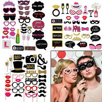 Funny Adult Hen Photo Booth Party Props Funny Mustache Selfie Birthday Wedding