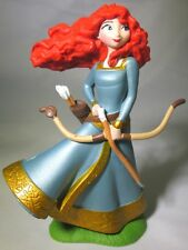 *MERIDA Disney Pixar BRAVE PRINCESS Dress PVC TOY Figure CAKE TOPPER FIGURINE!*