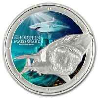 Ocean Predators - 2016 Mako Shark - 1 oz Silver Coin - NZ Mint - Coin #5