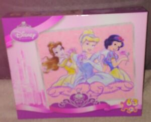 Disney Princess Classic Beauty Jigsaw Puzzle NEW! 63 Pieces from 2007