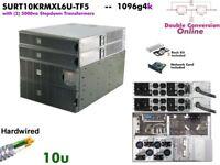 1096g4k~ APC Smart Online 10000va UPS 208/240+120v SURT10KRMXL6U-TF5 #NewBatts