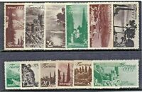RUSSIA 1938 VIEWS Stamps SET 12v SG798-809 Mint REF:A860