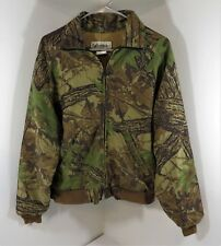 Vintage Gander Mountain Real Tree Camo Full Zip Jacket - Size Small