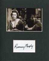 Rosemary Murphy To Kill a Mockingbird Signed Autograph Photo Display