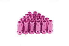 CPR OPEN ENDED 17HEX 20 PCS STEEL WHEEL LUG NUTS -PINK M12x1.5 48MM F