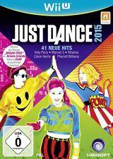 Just Dance 2015 Nintendo Wii U WiiU Nouveau+EMBALLAGE D'ORIGINE
